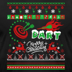 Dart Shirts - Dart Christmas Shirts - Men's T-Shirt by American Apparel