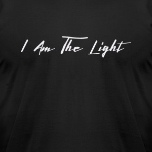 I Am The Light - Men's T-Shirt by American Apparel
