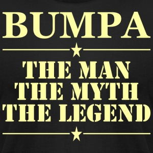 Bumpa The Man The Myth The Legend - Men's T-Shirt by American Apparel