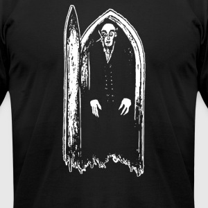 vampire the jombie - Men's T-Shirt by American Apparel