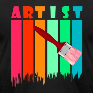Artist Tee Shirt - Men's T-Shirt by American Apparel