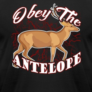 OBEY THE ANTELOPE SHIRT - Men's T-Shirt by American Apparel