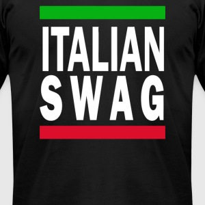 Italian Swag - Men's T-Shirt by American Apparel