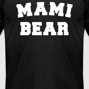Mami bear - Men's T-Shirt by American Apparel