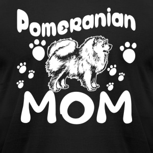 Pomeranian Mom Shirt - Men's T-Shirt by American Apparel