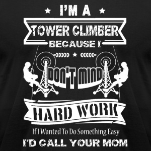 Tower Climber Shirt - Men's T-Shirt by American Apparel