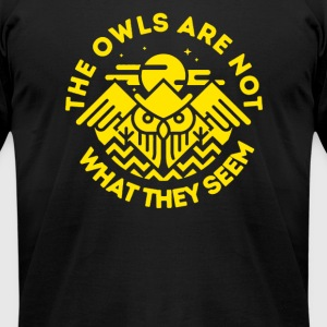 The Owls Are Not What They Seem - Men's T-Shirt by American Apparel