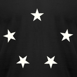 stars - Men's T-Shirt by American Apparel