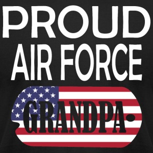 Proud Air Force Grandpa - Men's T-Shirt by American Apparel