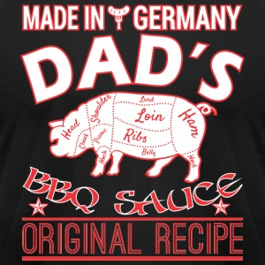 Made In Germany Dads BBQ Sauce Original Recipe - Men's T-Shirt by American Apparel