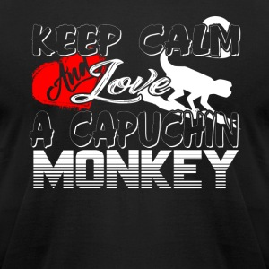 A CAPUCHIN MONKEYS SHIRT - Men's T-Shirt by American Apparel