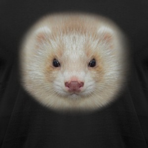 Ferret Face T Shirt - Men's T-Shirt by American Apparel