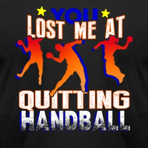 QUIRKY HANDBALL SHIRT - Men's T-Shirt by American Apparel
