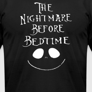 The Nightmare Before Bedtime - Men's T-Shirt by American Apparel