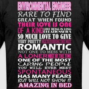 Environmental Eng Rare Find Romantic Amazing Bed - Men's T-Shirt by American Apparel