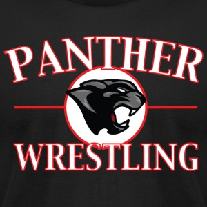 Panther Wrestling - Men's T-Shirt by American Apparel