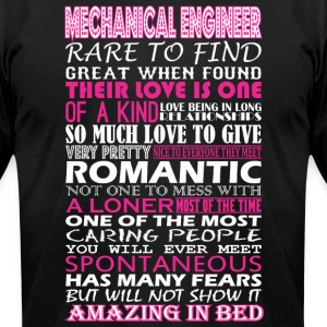 Mechanical Engineer Rare Find Romantic Amazing Bed - Men's T-Shirt by American Apparel