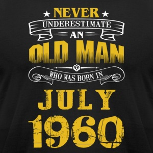 An Old Man Who Was Born In July 1960 - Men's T-Shirt by American Apparel