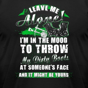 Leave me alone Farmer T Shirts - Men's T-Shirt by American Apparel