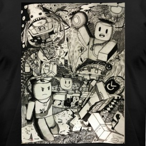 Chaos Fantasy - Men's T-Shirt by American Apparel