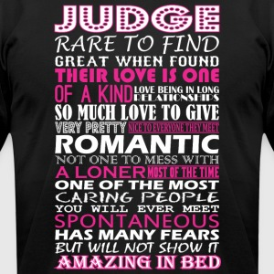Judge Rare To Find Romantic Amazing To Bed - Men's T-Shirt by American Apparel
