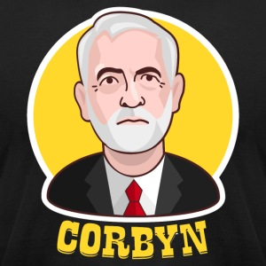 Jeremy Corbyn Labour 2017 - Men's T-Shirt by American Apparel