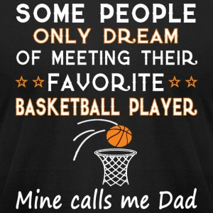 BASKETBALL DAD - Men's T-Shirt by American Apparel