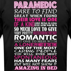 Paramedic Rare To Find Romantic Amazing To Bed - Men's T-Shirt by American Apparel
