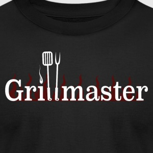 Grillmaster - Men's T-Shirt by American Apparel