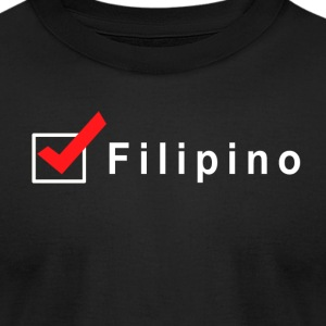 Check Filipino - Men's T-Shirt by American Apparel