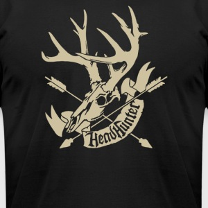 Hunting Head Hunter - Men's T-Shirt by American Apparel