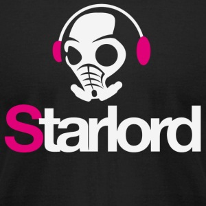 Starlord Headphone Picture - Men's T-Shirt by American Apparel