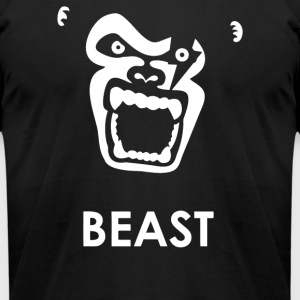 Instinct Attention Gorilla Beast - Men's T-Shirt by American Apparel