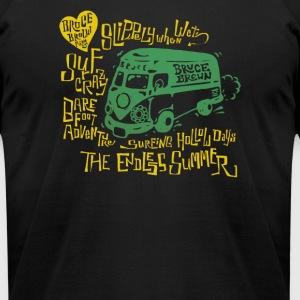 Licensed 1960's Split Window Bus - Men's T-Shirt by American Apparel