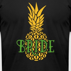 Bride Pineapple - Men's T-Shirt by American Apparel