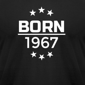Born 1967 T-Shit Design - Men's T-Shirt by American Apparel
