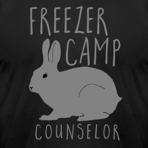 Freezer Camp Counselor Meat Rabbit - Men's T-Shirt by American Apparel
