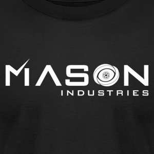 Timeless - Mason Industries Re Imagined Logo - Men's T-Shirt by American Apparel