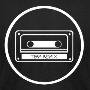 team remix white variant - Men's T-Shirt by American Apparel