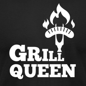 Grill Queen - Men's T-Shirt by American Apparel