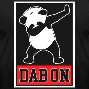Panda Dab On Dance Funny - Men's T-Shirt by American Apparel