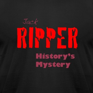Jack Ripper History's Mystery - Men's T-Shirt by American Apparel