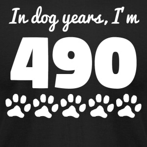 Dog Years 70th Birthday - Men's T-Shirt by American Apparel