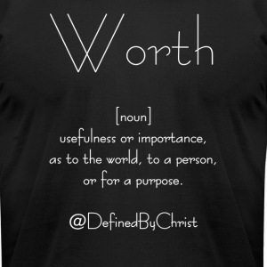Worth - Men's T-Shirt by American Apparel