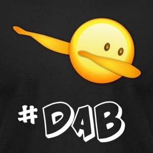 dab dabbing emoticon emo best football - Men's T-Shirt by American Apparel