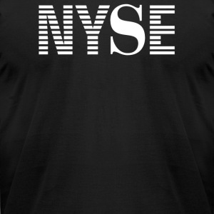 Nyse New York Stock Exchange - Men's T-Shirt by American Apparel