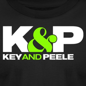 Key and Peele - Men's T-Shirt by American Apparel