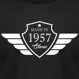 Classic Made In 1957 60th Birthday Gift - Men's T-Shirt by American Apparel