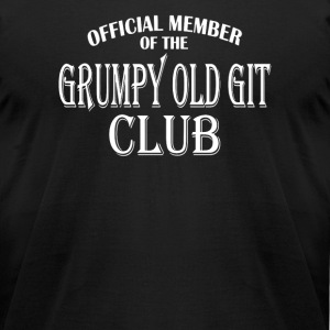 Grumpy Old Git Club - Men's T-Shirt by American Apparel
