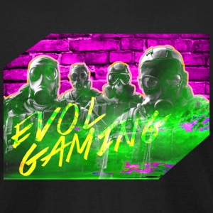 ev0l gaming Youtube channel art - Men's T-Shirt by American Apparel